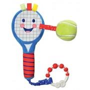 "Kids Preferred Little Sport Star On the Go Plush Developmental Tennis Racket, 13.75"""