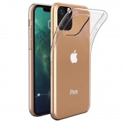 Capa de TPU Anti-Slip para iPhone 11 Pro Max - Transparente