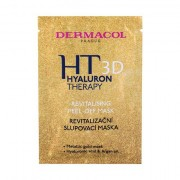 Dermacol 3D Hyaluron Therapy Revitalising Peel-Off maschera per il viso per tutti i tipi di pelle 15 ml donna