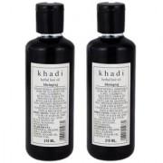 Khadi Herbal Bhringraj Hair Oil Pack of 2