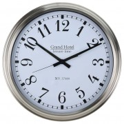 Zegar ścienny STALOWY metalowa rama obudowa 52 cm