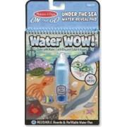 Carnet de colorat cu Apa magica Oceanul