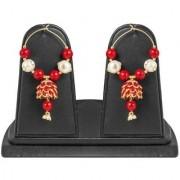 Jewels Gold Party Wear Wedding Fashion Designer Latest Stylish Jhumki Earring Set For Women Girls