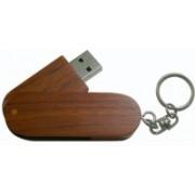 Eshop Swivel Wooden Thumb Pendrive 8 GB Pen Drive(Brown)