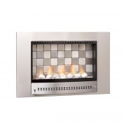 Chad-O-Chef 700 Picture Tiled Fireplace stainless-steel