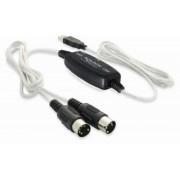 Convertor USB-Midi Delock