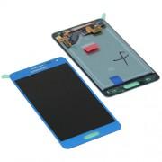 Дисплей + тъч за Samsung G850F Galaxy Alpha Син
