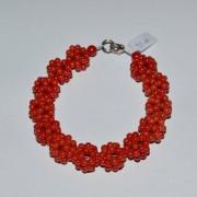 Bratara coral handmade unicat M8