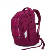 Satch Pack Schulrucksack Purple Leaves #SAT-SIN-002-9H3