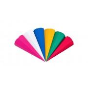 Folia 3D Wellpappe-Schultüten, 20 Stück, in 5 Farben