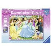 Ravensburger Principesse Disney. Puzzle 100 Pezzi
