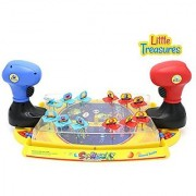 Little Treasures Space Battle Alien Shooter Game Set Comes With 12 Aliens and Outer Space Battle Field