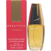 Profumo donna estee lauder beautiful 15 ml edp eau de parfum