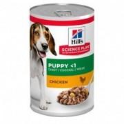 Hill S Science plan puppy - mangime umido gusto pollo 12 lattine da 370 g