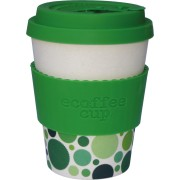 Cana de voiaj din bambus cu capac Gaia, 335ml, Ecoffee Cup