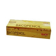 Caja de lápiz Baco amarillo c/50