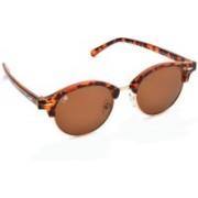 MTV Clubmaster Sunglasses(Brown)