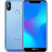 "Telefon Mobil Doogee X70, Procesor Quad-Core 1.3GHz, IPS Capacitive Touchscreen 5.5"", 2GB RAM, 16GB Flash, 8 + 5MP, 3G, Wi-Fi, Dual Sim, Android (Albastru)"