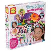 Alex Toys Craft Wrap and Layer Headbands, Multi Color