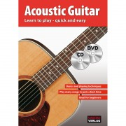 Cascha HH 1102 EN Acoustic Guitar - quick and easy to learn