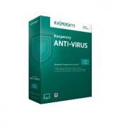 Antivirus, KASPERSKY Anti-Virus 2019, 1-Desktop, 1 year, Renewal License Pack (KL1171XCAFS)
