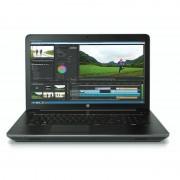 Laptop HP ZBook 15 G3 15.6 inch Full HD Intel Core i7-6700HQ 8GB DDR4 1TB HDD 256GB SSD nVidia Quadro M2000M 4GB FPR Windows 10 Pro downgrade la Windows 7 Pro