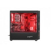 Carcasa Genesis PC case IRID 300 RED MIDI TOWER USB 3.0Carcasa