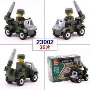 Generic 12 Kinds Mini Transportation Block Car Building Compatible legoeINGlys Duplo City Soliders Police Bricks 3