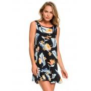 ROXY - šaty ALL ABOUT THE SEA DRESS black Velikost: L