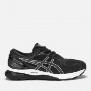 Asics Men's Running Gel-Nimbus 21 Trainers - Black/Dark Grey - UK 10 - Black