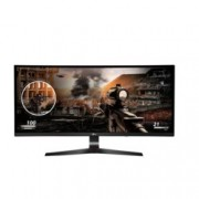 "Монитор LG 34UC79G-B, 34"" (86.36 cm), IPS панел, UWHD Curved, 5ms, Mega, 250 cd/m2, HDMI, DisplayPort"