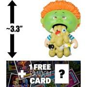 Richie Retch: ~3.3 Garbage Pail Kids X Funko Mystery Minis Mini-Figure Series #2 + 1 Free Gpk Trading Card/Sticker Bundle (108454)