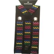 Mr. Zunk Y- Back Suspenders for Men(Multicolor)