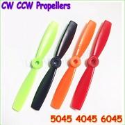 Generic 4045 green 10pair : 20 unids/lote DAL 5045 4045 6045 5x4.5 Pulgadas PC Fibra De Vidrio Multicolor Propeller CW/CCW Para QAV250 Series Frame (10 pares)