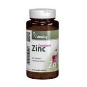 Zinc Immuno Masticabil cu Echinacea 60cpr Vitaking