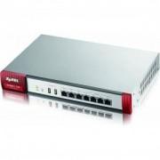 ZyXEL ZyWALL USG 110 MultiCore 3.6Gbps Firewall ,800Mbps през Firewall, 2xWAN, 1xOPT, 4xLAN порта - ZYXEL-ZyWALL-USG110