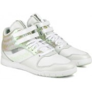 REEBOK Urlead Mid Se Dance Shoes For Women(White, Multicolor, Silver)
