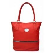 AGINOS Women Red Shoulder Bag
