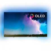 Телевизор Philips 65 инча OLED 4K TV, 3-странен Ambilight, SAPHI, 4500PPI, HDR 10+, P5 Perfect Picture, Dolby Vision и Dolby Atmos, 65OLED754/12