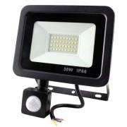 Proiector LED cu senzor de miscare, 30W , 2700lm 6500K IP66