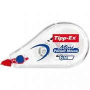 Tipp-Ex Correction Tape Roller Mini Pocket Mouse 5 mm x 6 m White
