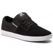 Сникърси SUPRA - Stacks II 08183-045 Black/Grey/White