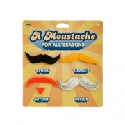 A Moustache For All Seasons Fake Mustaches Set Of 4