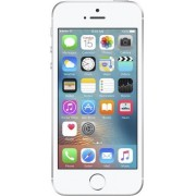 "Telefon Mobil Apple iPhone SE, Procesor Dual-Core 1.8GHz, LED‑backlit widescreen Retina display Capacitive touchscreen 4"", 2GB RAM, 32GB Flash, 12MP, 4G, Wi-Fi, iOS (Argintiu) + Cartela SIM Orange PrePay, 6 euro credit, 4 GB internet 4G, 2,000 minute nati"