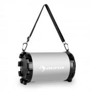 Auna DR. SILVER BOOM 2.1 BLUETOOTH тонколона USB SD AUX батерия (CS6-DR.-SILVER-BOOM)