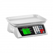 Price-Calculating Scale - 30 kg / 1 g - 28.8 x 21.8 cm - LCD