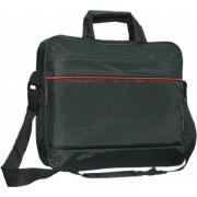 11-12-13.3-14 inch Laptoptas type schoudertas voor laptop en notebook (messenger tas), 11-14 inch voor o.a. HP, Dell, Asus, Acer, Medion, Toshiba, Lenovo, Macbook, Microsoft, Peaq etc., zwart , merk i