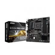 MB, MSI B350M PRO-VDH /AMD B350/ DDR4/ AM4