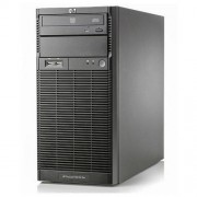 HP Proliant ML110 G6 tower - Xeon Quad Core X3430, 8 Gb Ram, 2x HDD 500 Gb S-ata, Raid Ctrl.