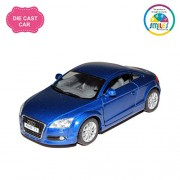 Smiles Creation Kinsmart 1:32 Scale 2008 Audi Tt Coupe Toy, Red